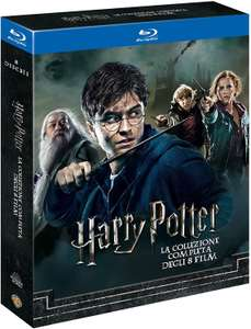 Harry Potter Complete Collection Blu-ray (8 Filme, deutsche Tonspur, Standard Edition)