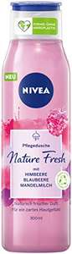 Amazon Prime:4x Nivea Duschgel nature fresh Himbeere ,vegan,umgerechnet 1,11€ je 300ml Flasche( dm 2,75 € Standard )mit sehr guter Bewertung