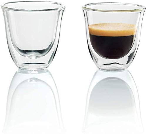 (Amazon Prime) De'Longhi isolierte Espresso-Gläser, 2er Set
