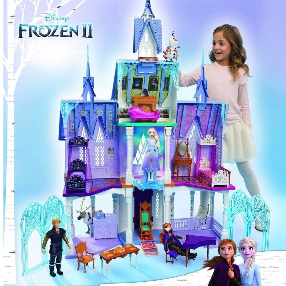 Sammeldeal Disney Die Eiskönigin 2 Königliches Schloss von Arendelle aus dem Film Die Eiskönigin 2. Das Schloss ist ca. 1,5 m groß