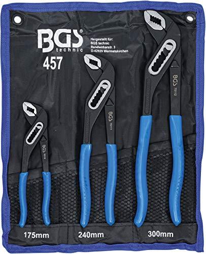 BGS 457 | Wasserpumpenzangen-Satz | 3-tlg | 175-240-300 mm