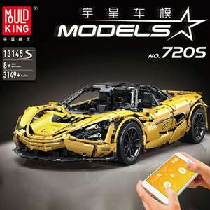 Mould King 13145S McLaren 720S APP RC | Klemmbausteine