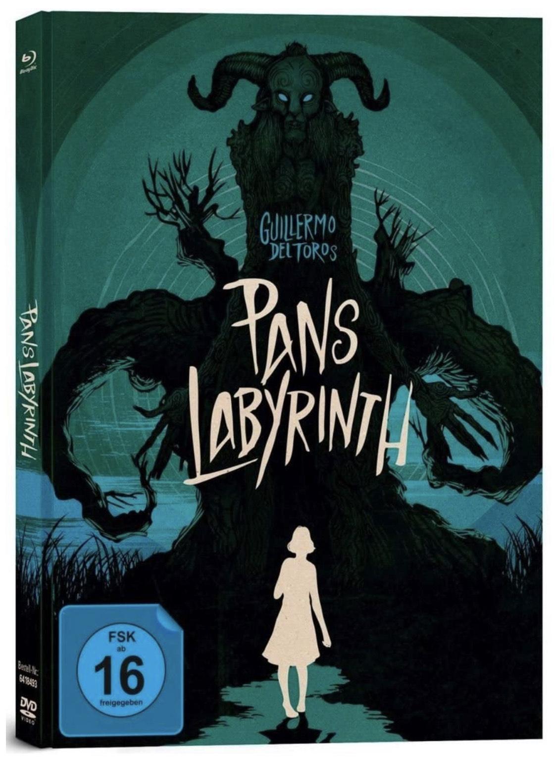 Pans Labyrinth - Mediabook (3-Disc Limited Collector's Edition /+ Blu-ray + DVD + Bonus-Blu-ray)