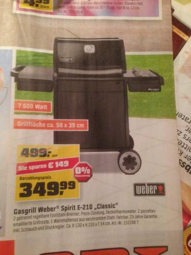"Weber Gasgrill Spirit E-210 ""Classic"""