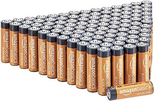 Amazon Basics AA-Alkalibatterien, leistungsstark, 1,5 V, 100 Stück ab 14,27€ @amazon prime