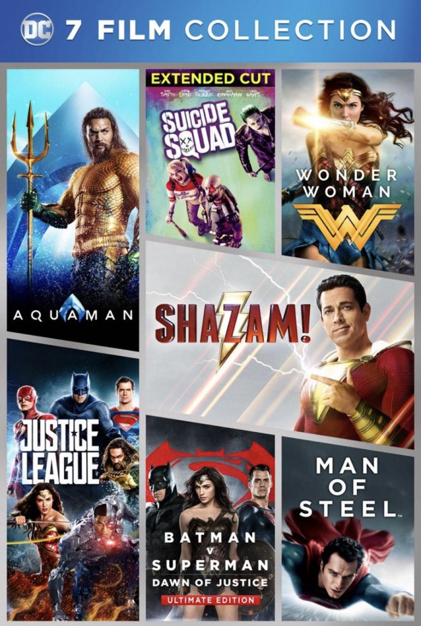 DC Comics 7 Film Collection iTunes für die Hälfte