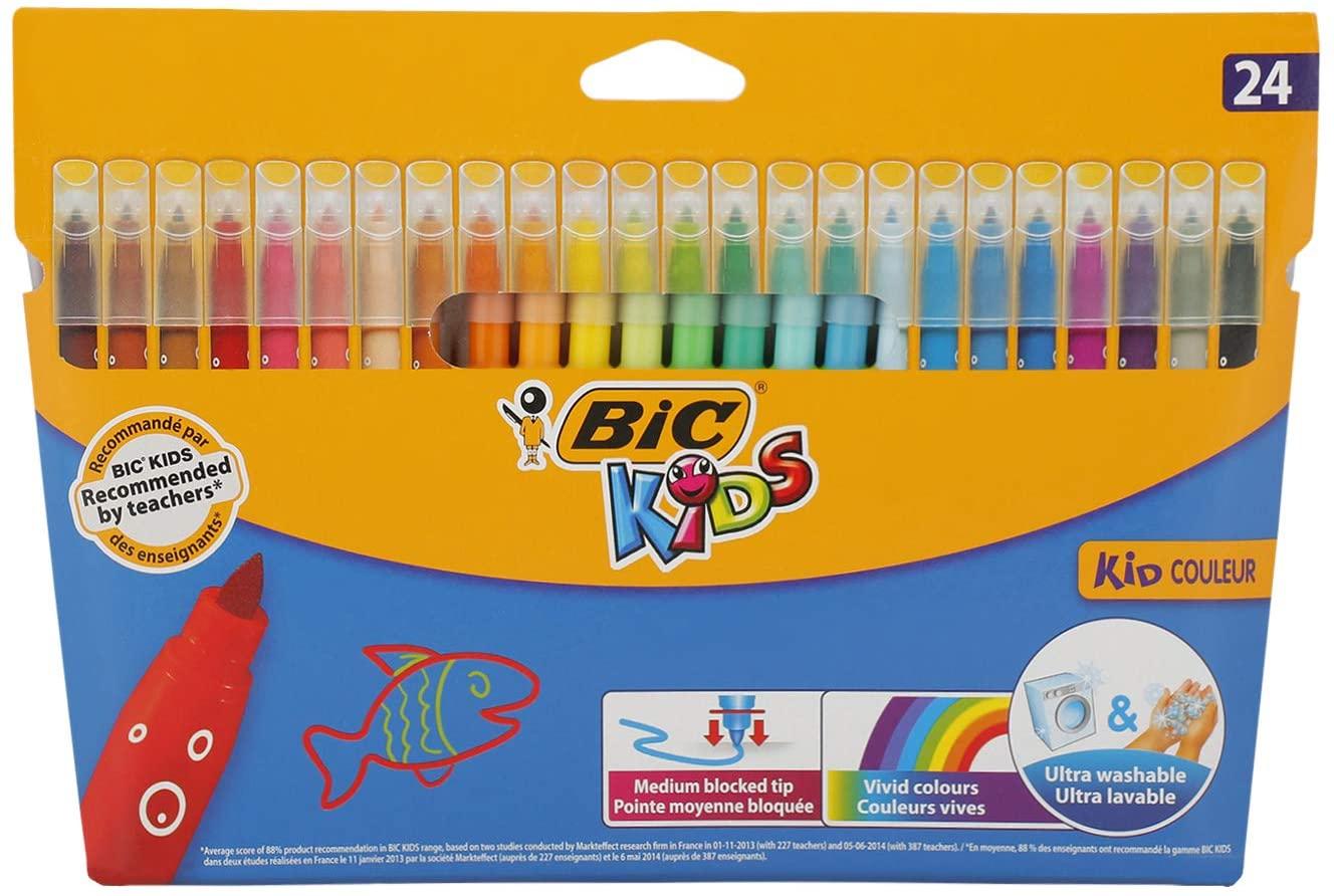 24x BIC Kids Filzstifte