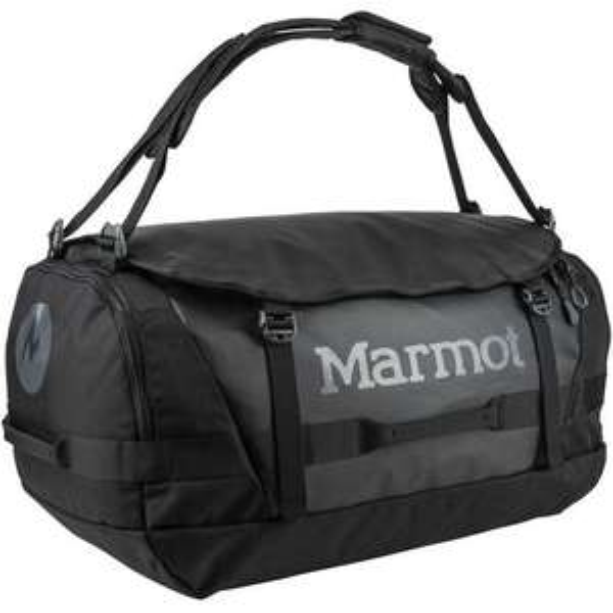 Duffel-Bag-Taschen Sammeldeal, z.B. Marmot Long Hauler Duffel Bag Large, schwarz, 75 L, Modell aus 2020