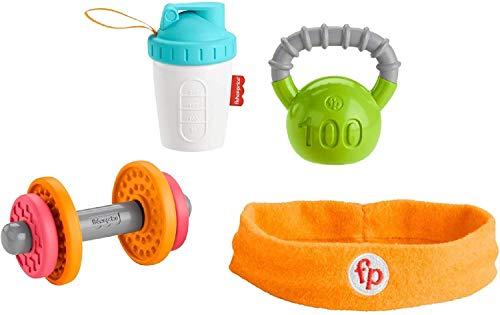 Fisher-Price - Hantel-Set Spielzeug (Haarband, Rassel- und Beißringset) [Amazon Prime]