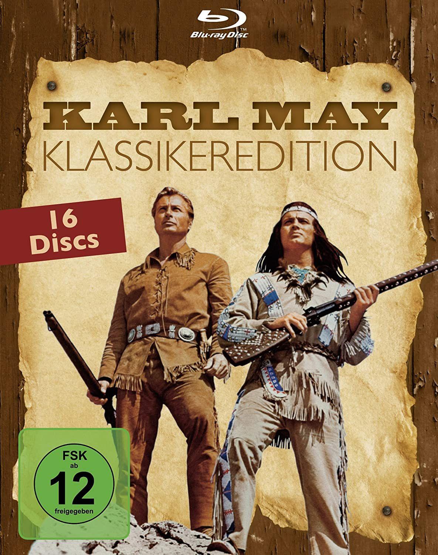 Karl May - Gesamtbox (16 Disc) [Blu-ray] [Amazon]