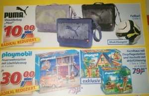 Lokal @real,- Bitterfeld --> Playmobil 5027 oder 4207+4208 für nur 30€