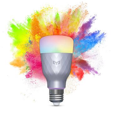 Smarte LED Lampe YEELIGHT YLDP001 1SE E27 6W RGBW für 10,93€ inkl. Versand aus Tschechien