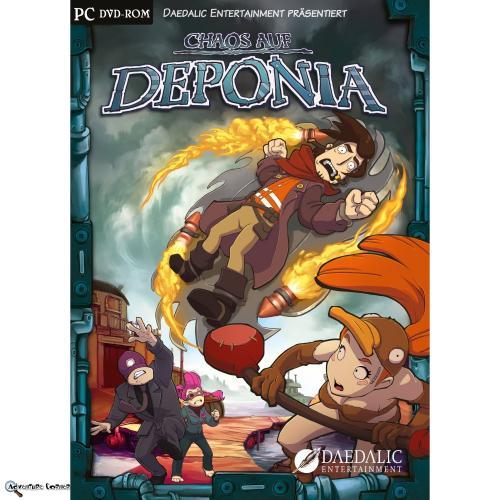 Daedalic Weekend bei gog.com (Deponia,Chaos auf Deponia,Edna usw.) günstig