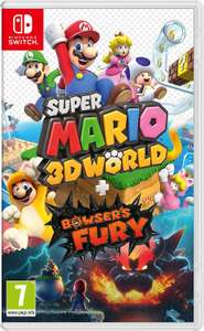 Super Mario 3D World + Bowser's Fury [Nintendo Switch] Amazon
