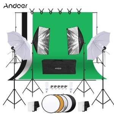 Andoer Photography / Photo Studio Kit für 101,99 €