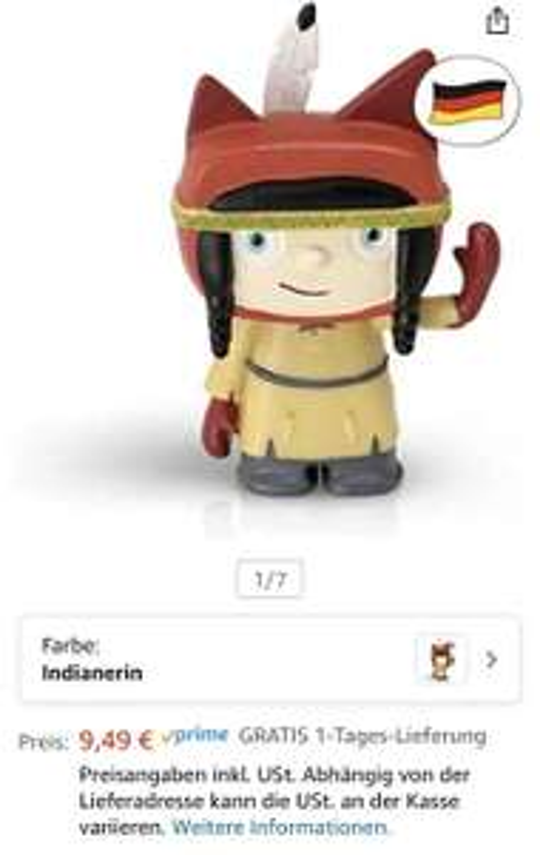 Kreativ Tonies bei Amazon [Prime] im Angebot für 9,49€