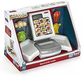 Theo Klein 9311 Obst- und Gemüsewaage mit elektronischer Displayanzeige,Papierspender, Zubehör für Kinder ab 3 J. [Amazon Prime]