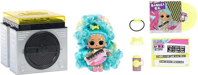 L.O.L. Surprise! 566977E7C Remix Haar-Flip-Puppen - Sammlerstücke - 15 Überraschungen - mit Haarenthüllung, Zubehör & Musik [Prime]