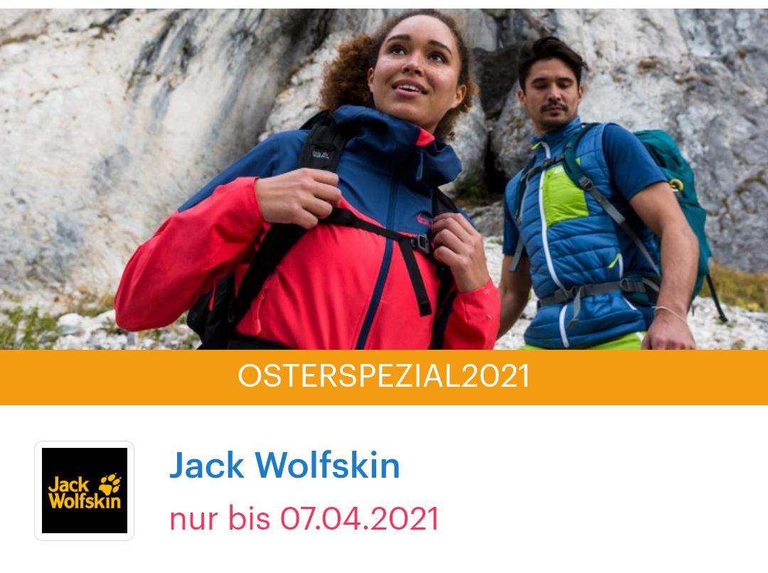 [ Shoop | Jack Wolfskin ] 12% Cashback + 10€ Shoop-Gutschein* ( ab 99€ MBW) + versandkostenfreie Bestellung