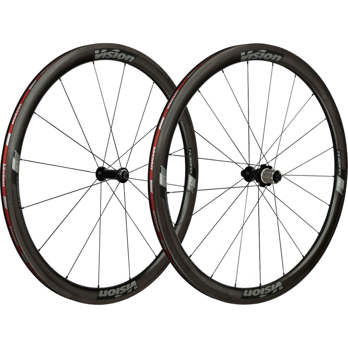 Vision, TriMax Carbon 40, Tubular (Schlauchreifen), Laufradsatz, 1390g