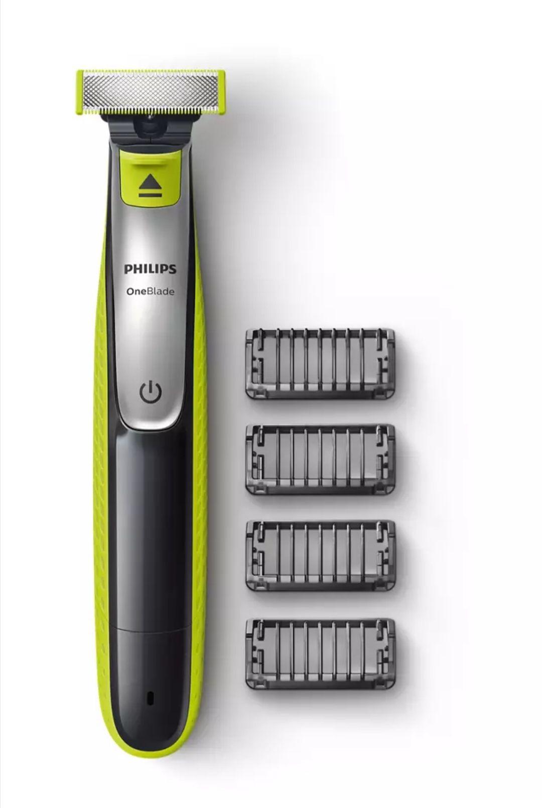 Philips OneBlade QP2530/20 Rasierer mit 4 Aufsätzen Wieder verfügbar / Shoop 20 % nicht vergessen