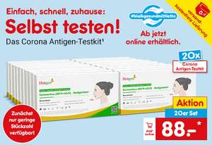 [NETTO online] Hotgen Novel Coronavirus Antigentest 20er Set