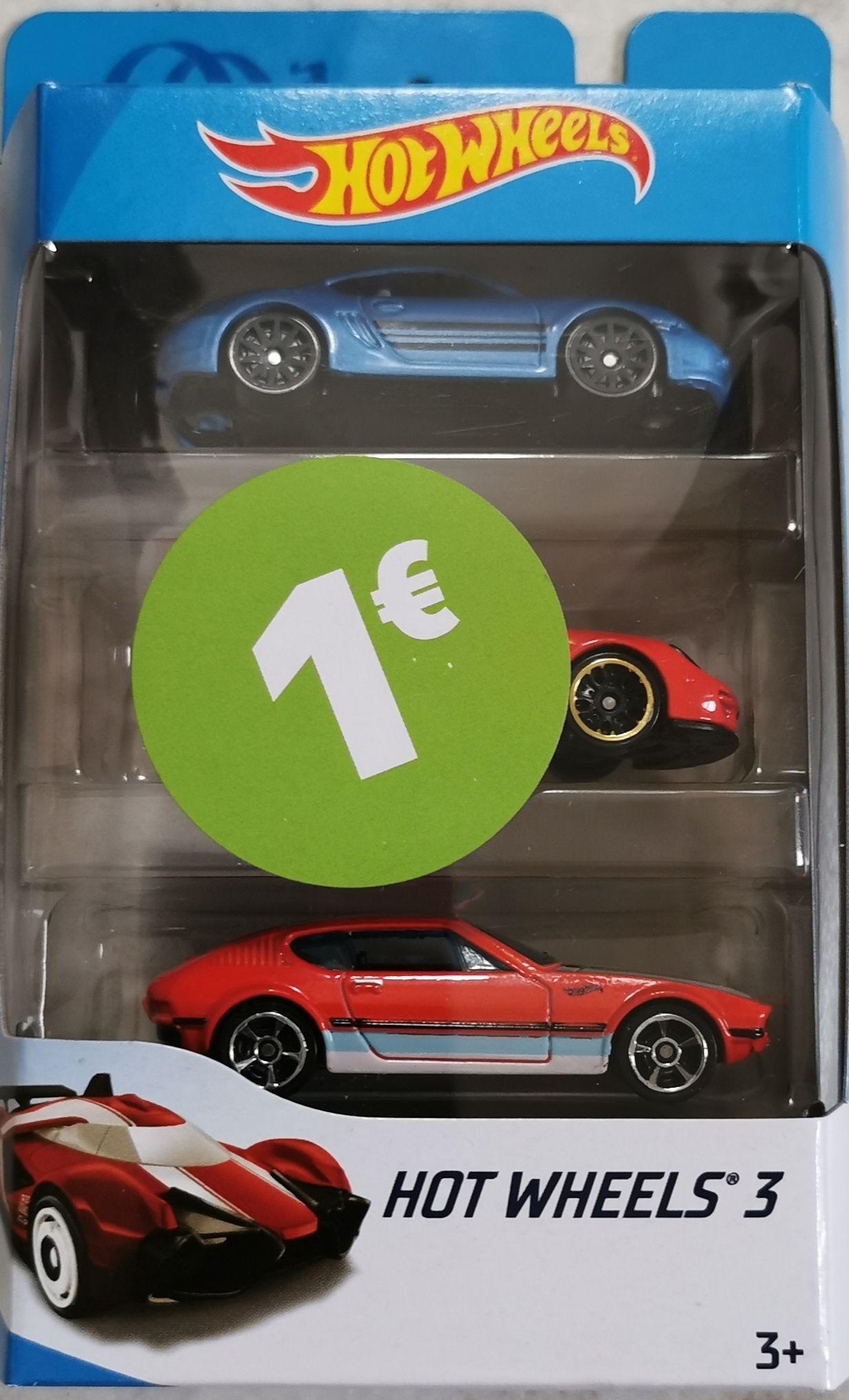 LOKAL Erfurt Hotwheels 3 3er Pack Geschenkset