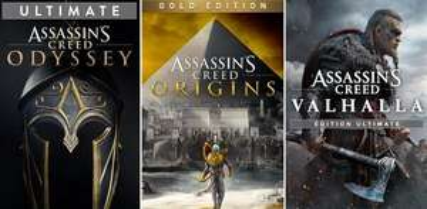 [PC] Assassin's Creed Odyssey Ultimate Edition für 9,21€ - Origins Gold für 9,65€ - Valhalla Standard für 24,11€ & more ! [VPN]