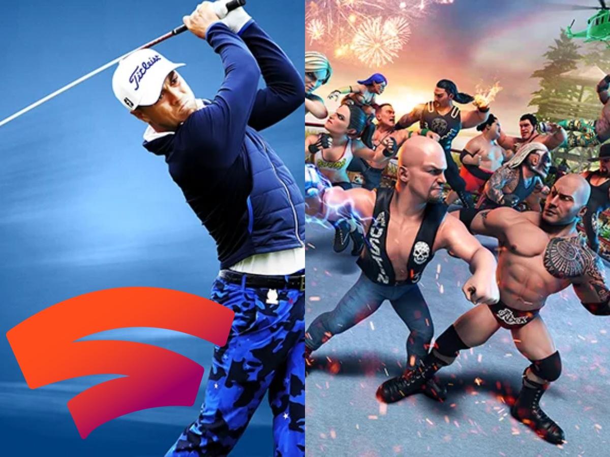 [Stadia Sammeldeal der Woche 12/13]: PGA TOUR 2K21, WWE 2K Battlegrounds
