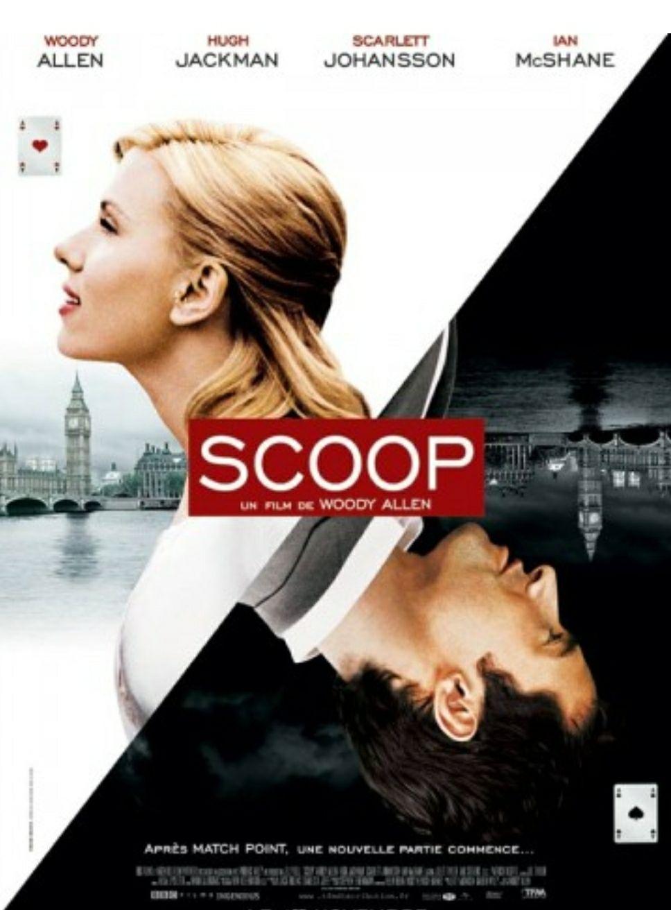 """[Servus TV Mediathek] Woody Allen's """"Scoop - Der Knüller"""" mit Scarlett Johansson und Hugh Jackman kostenlos streamen"""
