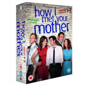 Amazon.co.uk: How I met your mother, Staffeln 1-7 (DVD-Box) - 54,14 Euro (inklusive Versand)