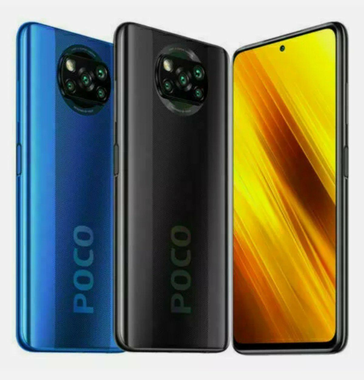 Xiaomi Smartphone POCO X3 6+128G NFC 5160mAh 6,67 Zoll Handy Globale Version + Rucksack