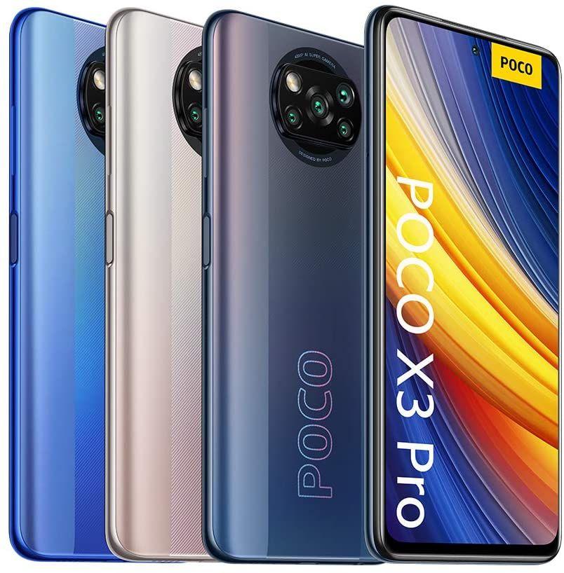 (BS Deutschland / Versand durch Amazon) Poco X3 Pro EEA 6+128