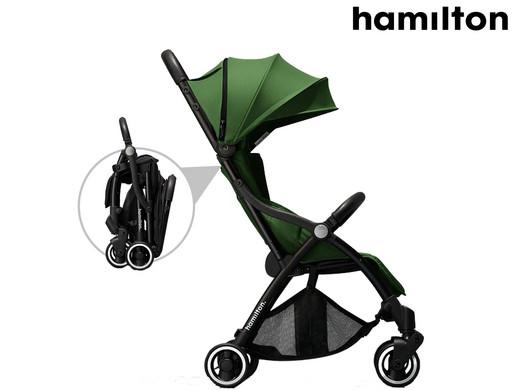 Hamilton One Prime X1 Magic Fold Buggy (Für Kinder ab 6 Monaten, Mit einer Hand Faltbar) [iBOOD]