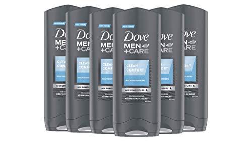 *Amazon* Dove Men+Care Duschgel für erfrischende Reinigung Clean Comfort milde Formel, 6er Pack (6 x 250 ml) (im Sparabo 5,22€)