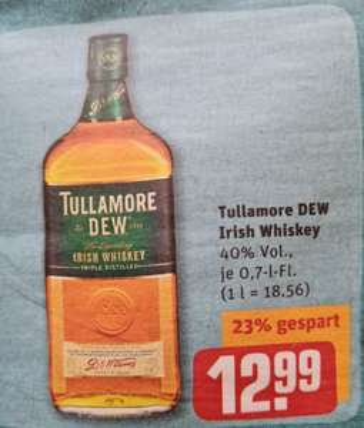 Tulamore DEW Irish Wisky 40% 0,7 l Rewe ab 29.03