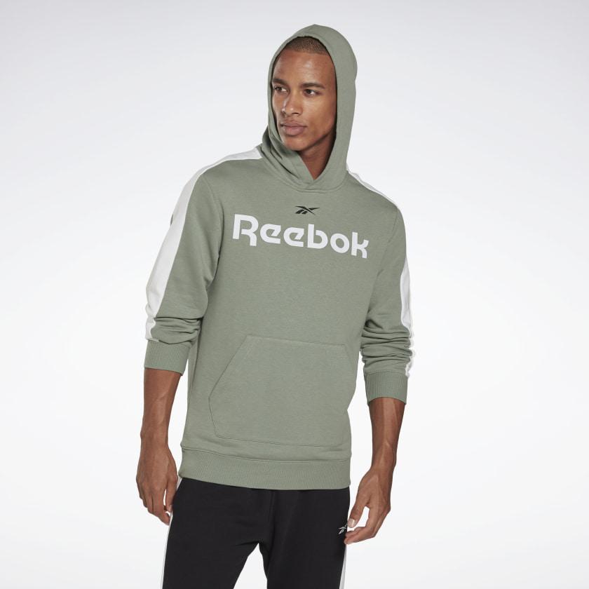 Flash Sale bei Reebok mit 50% Rabatt auf Sneakers & Apparel, z.B. Training Essentials Linear Logo Hoodie