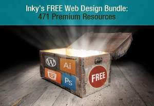 Kostenloses Web Design Bundle von Inky's