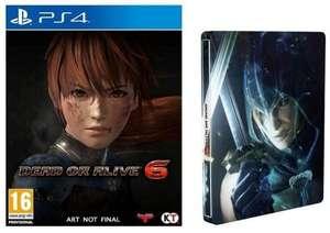 Dead or Alive 6 - Steelbook Edition (PS4) für 4,99€ (Media Markt Abholung)