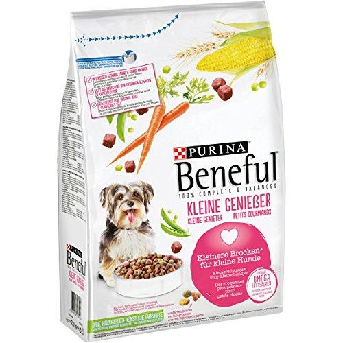 Hundefutter PURINA BENEFUL Kleine Genießer Rind/Gartengemüse 4 x 2,8 kg Beutel 0,61€/ kg