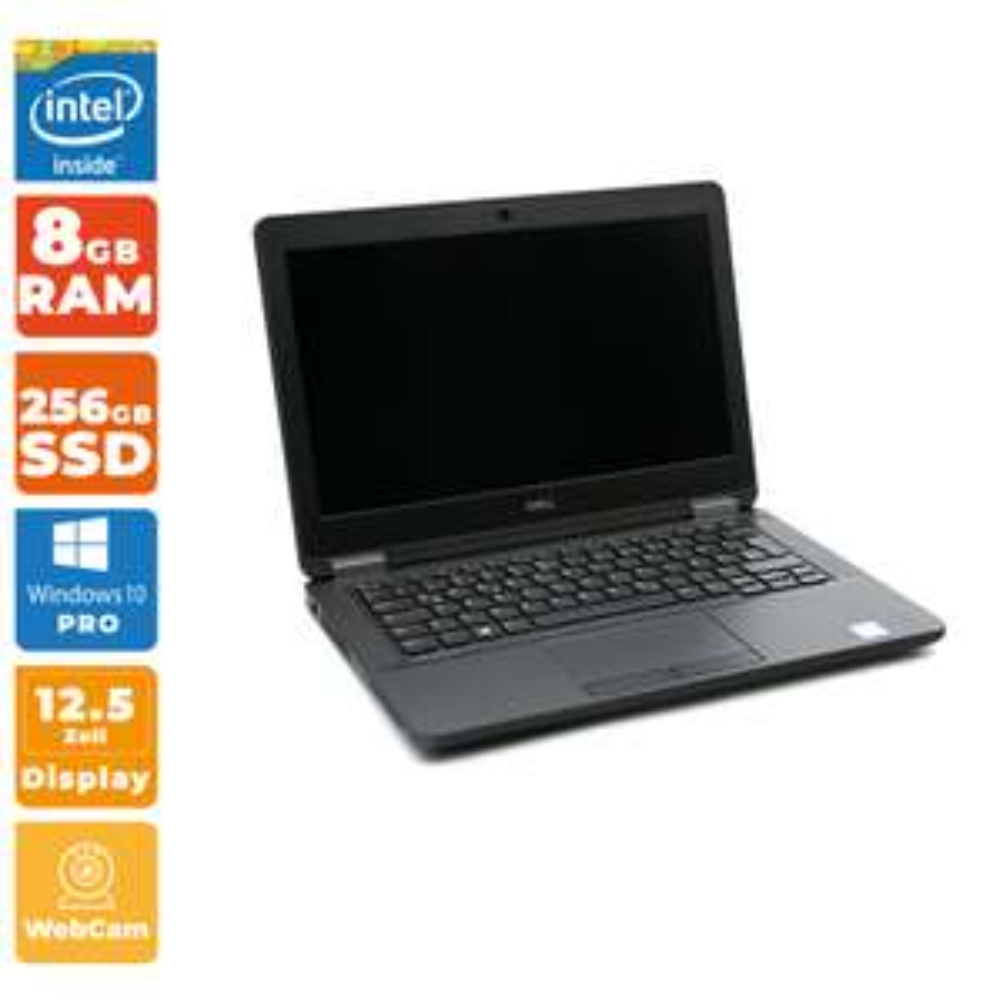 "[gebraucht] Dell Latitude E5270 (12.5"", FHD, i5-6200U, 8GB RAM, 256GB SSD, LAN, WLAN, HDMI, VGA, 3x USB 3.0, Win10 Pro)"