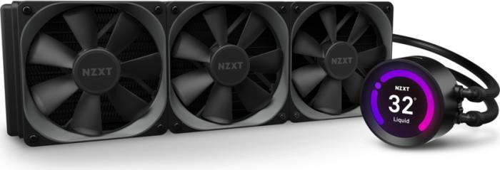 NZXT RL-KRZ73-01 KRAKEN Z73 360MM AiO LCD CPU Wasserkühler in schwarz