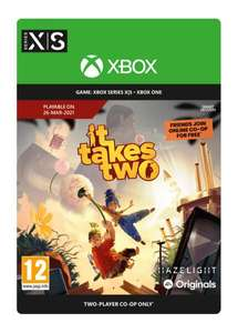 It Takes Two für Xbox One + Series S|X Download Code bei Shopto.net
