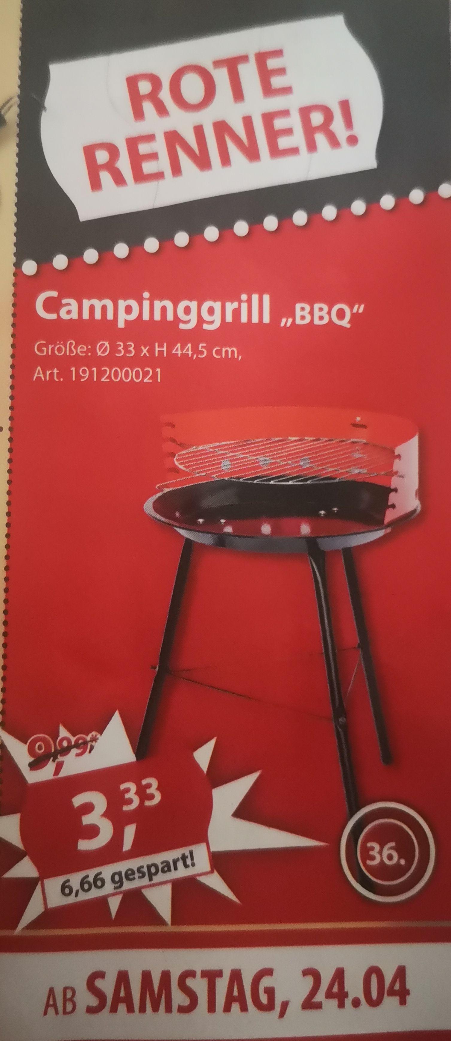 Campinggrill BBQ (Sonderpreis Baumarkt) [offline]