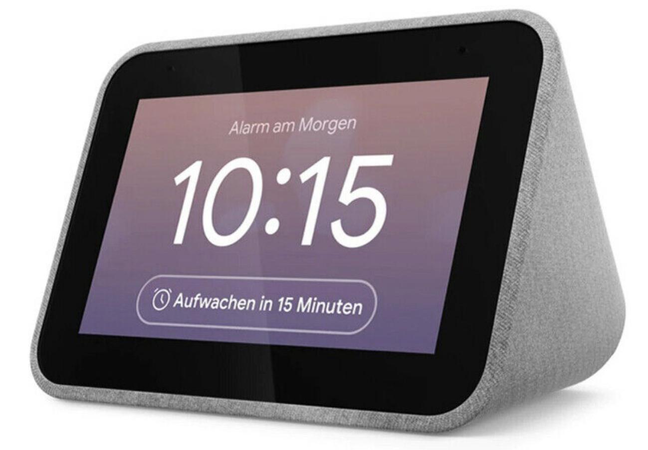 Lenovo Smart Clock mit Google Assistant für 35,99€ inkl. Versandkosten