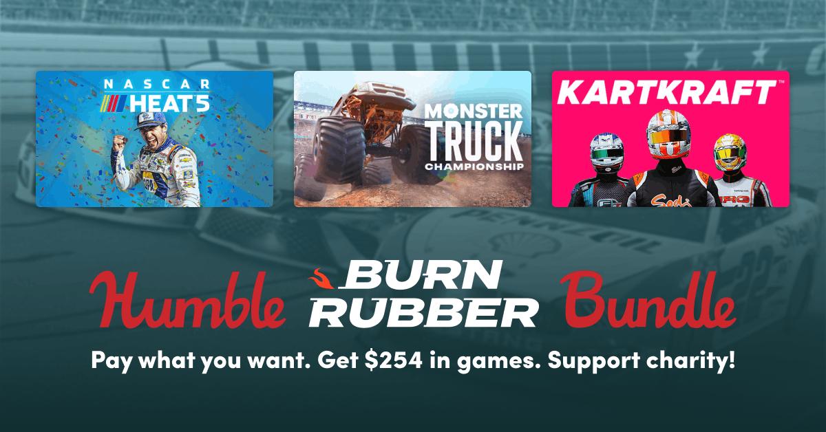 Humble Bundle Games: Burn Rubber (Steam Keys)