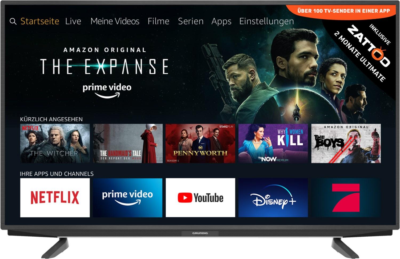"Grundig 43 GUT 7055 Venedig Fire TV Edition - 43"" UHD TV mit Fire TV Betriebssystem, Quad-Core, Triple-Tuner"