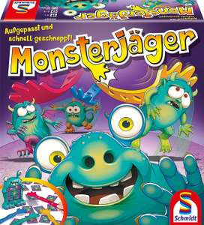 Schmidt Spiele 40557 Monsterjäger, Aktionsspiel, bunt [Amazon Prime]