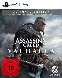 Assassin's Creed Valhalla - Ultimate Edition [PS5] inkl. Season-Pass für 52,49€ [Spielegrotte]