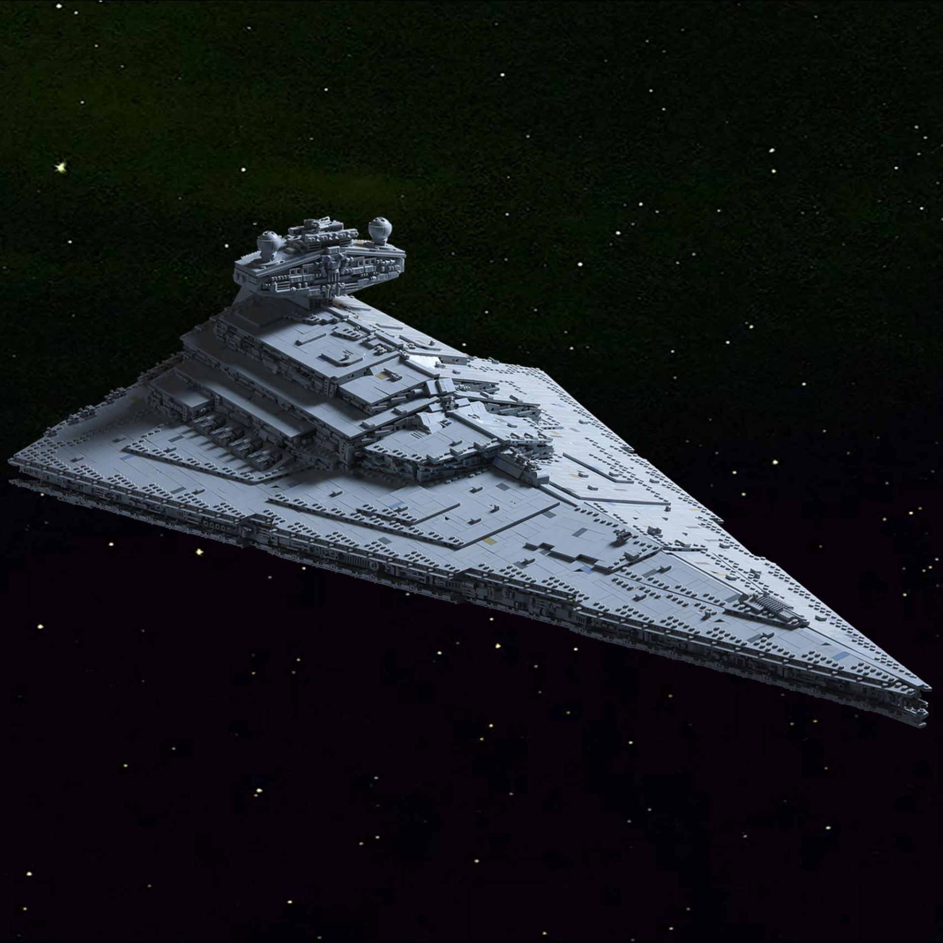 Mould King ISD Monarch: Imperialer Klemmbaustein Sternenzerstörer (11885 Teile, 118 x 71 cm, Gemon-4-Ionentriebwerk, Star Wars)